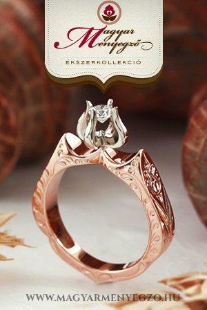 Magyar Menyegző karikagyűrűk, eljegyzési gyűrűk